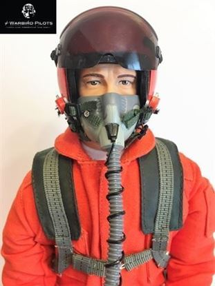 Picture of 1/4.5 ~ 1/4 Modern Jet RC Pilot Figure (Orange)