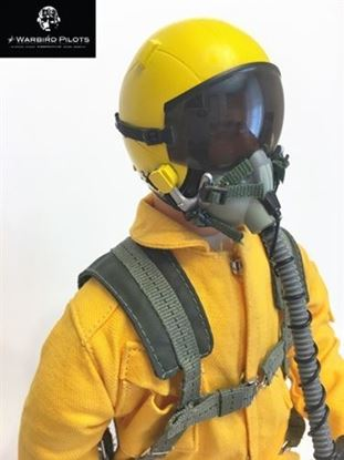 Picture of 1/4.5 ~ 1/4 Modern Jet RC Pilot Figure (Yellow)