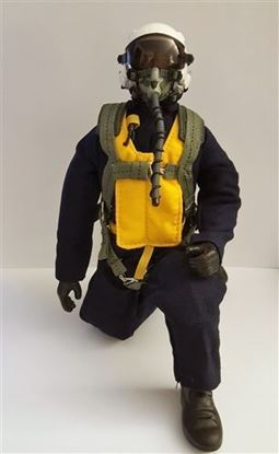 Picture of 1/5~1/6 Korean Era RC Jet Pilot Figure