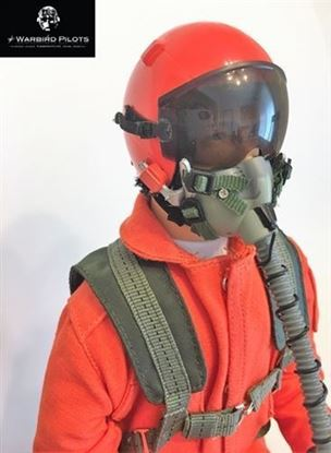 Picture of 1/5~1/6 Modern Jet RC Pilot Figure (Orange)