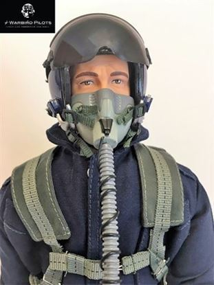 Picture of 1/7~1/8 Modern Jet RC Pilot Figure (Blue)