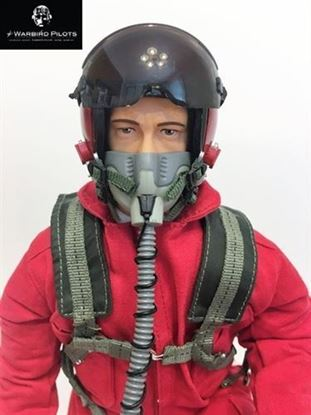 Picture of 1/7~1/8 Modern Jet RC Pilot Figure (Red)