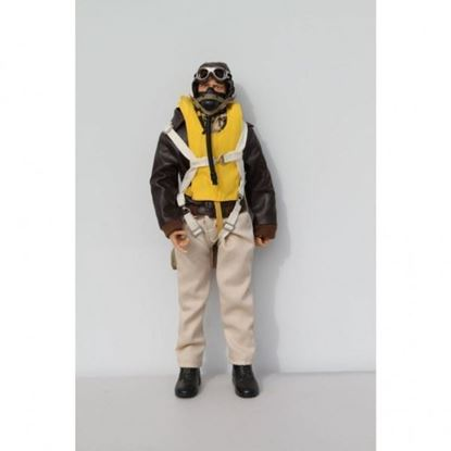 Picture of WWII American USAAF RC Pilot Figure 1/7 - 1/8 Scale