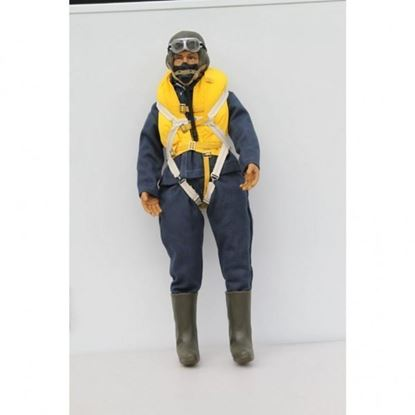 Picture of WWII British RAF RC Pilot Figure 1/7 - 1/8 Scale