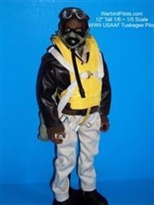 Picture of WWII Tuskegee RC Pilot Figure