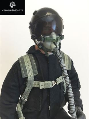 Picture of 1/5~1/6 Modern Jet RC Pilot Figure (Black)
