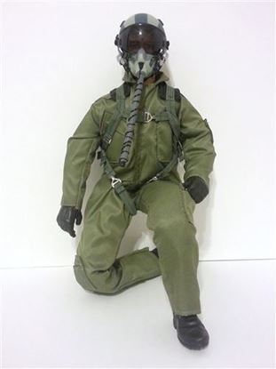 Picture of 1/5~1/6 Modern Jet RC Pilot Figure (Green)