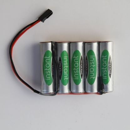 6.0 volt 'Stay charged' NmHd battery